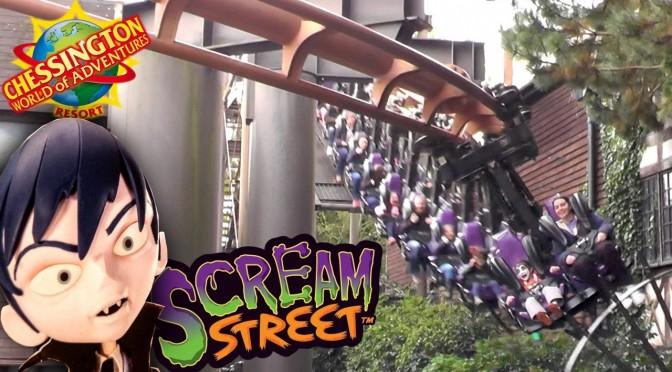 CBBC Scream Street Rollercoaster Adventure at Chessington