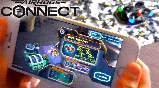Day 2 –  Air Hogs Connect: Mission Drone