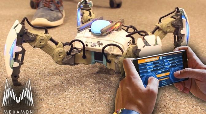 MekaMon – $329 Spider Battle Robots – Gameplay & Interview