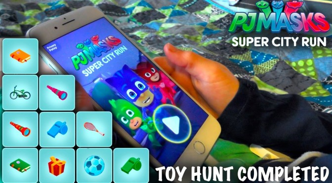 Let's Play PJ Masks Super City Run – Every Toy Collected