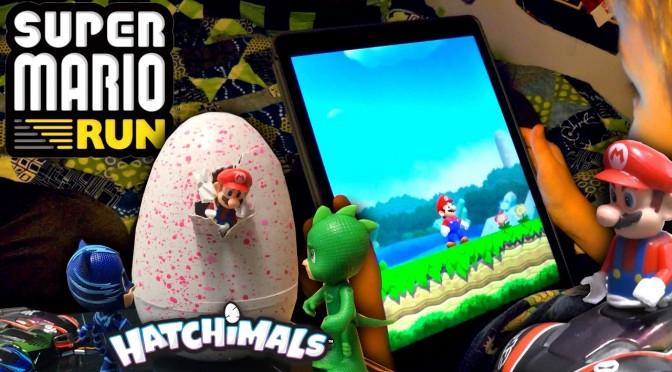 Super Mario Run with Hatchimals ☠ PJ Masks Glitch 💔 Surprise