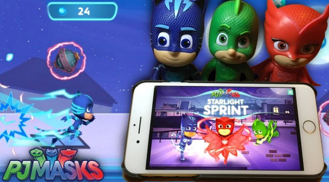 PJ Masks Starlight Sprint NEW Game Tips – Catboy Jumps & Owlette Wings