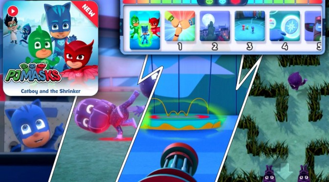 NEW PJ Masks Game – Shrink Ray, Maze Escape (Disney Appisode)