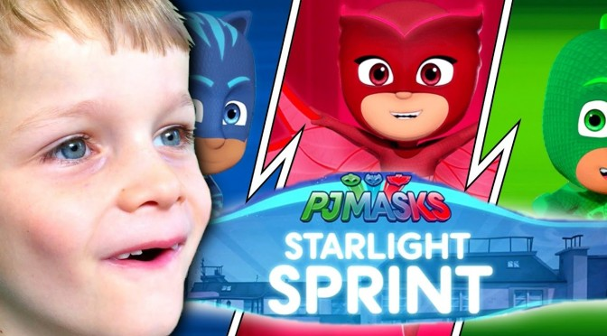 PJ Masks Starlight Sprint – Toy Challenge – iPad Game