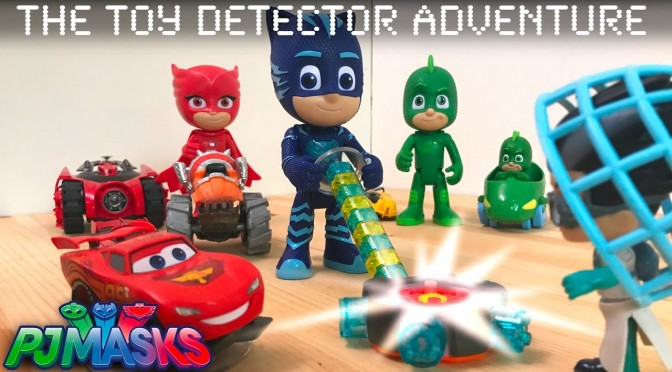 PJ Masks Toy Detector – 60 NEW OFFICIAL TOYS FOUND
