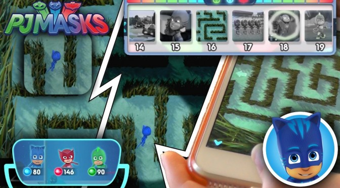 NEW! PJ Masks iPad Game – Catboy Lost in a Ninjalino Maze