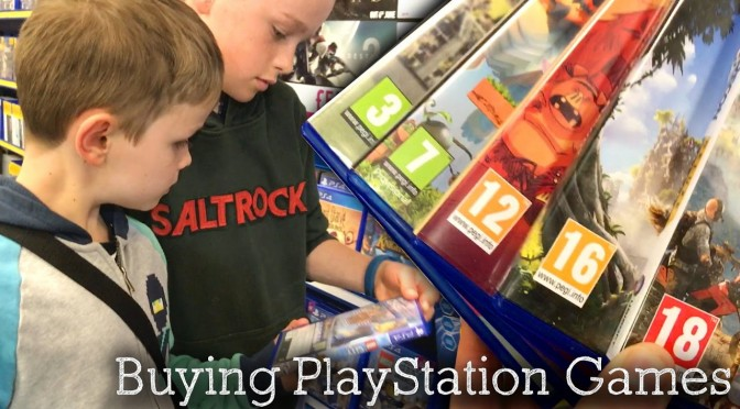 PS4 Game Buying Tips for Families