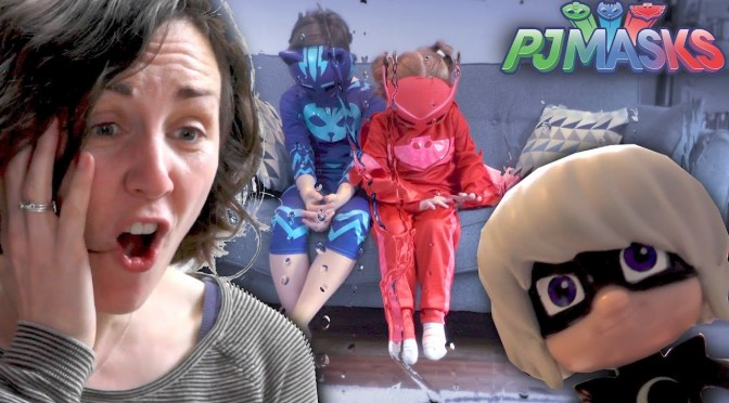 PJ Masks Luna Girl Toy Thief Makes Owlette Cry