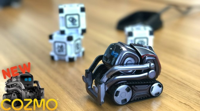 NEW Anki Robot – Meet Cozmo's NEW Liquid Metal Brother