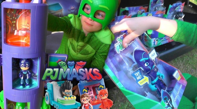 PJ Masks NEW Toys – Luna Girl Tank Steals The Toys