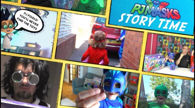 PJ Masks Story Time #1 – The Romeo Wars