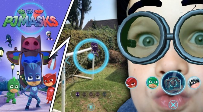 PJ Masks NEW iPad Game – Time To Be a Hero