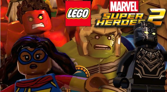 Lego Marvel Super Heroes 2 – Chronopolis Footage & Interview