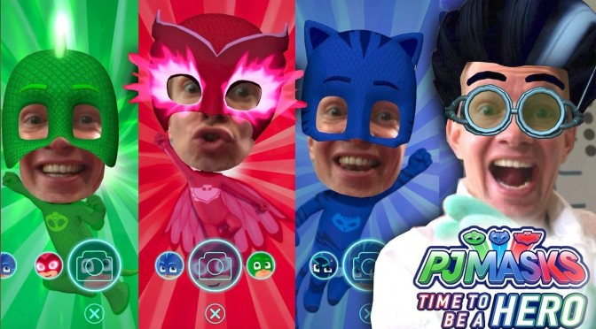 PJ Masks iPad Transform into Gekko, Owlette, Catboy (Disney Junior)