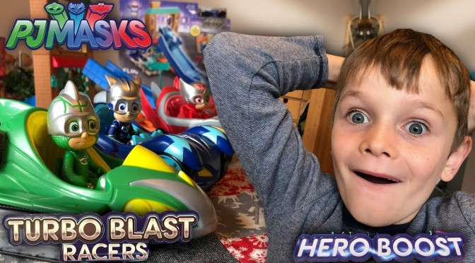 PJ Masks NEW! Turbo Blast and Hero Boost Toys (Disney Junior)