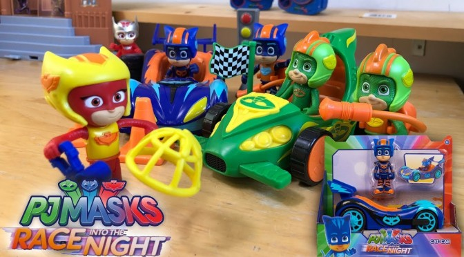 PJ Masks Magic Door to Race Into The Night Toys (Disney Junior)
