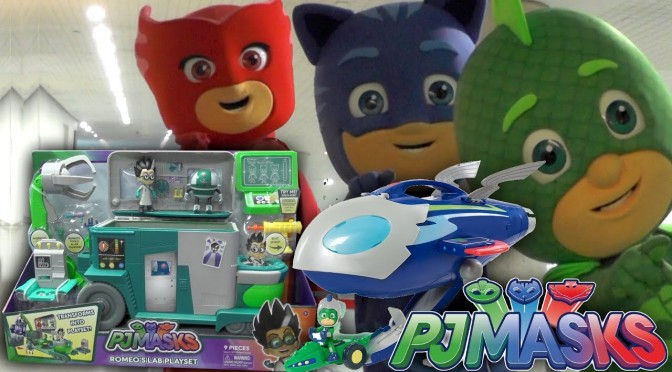 PJ Masks Romeo Lab Toy Stolen from Toy Fair