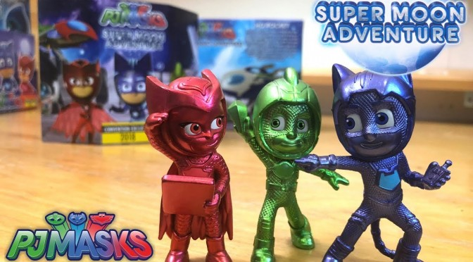 PJ Masks Super Moon Toys Frozen Metal by Romeo (Disney Junior)