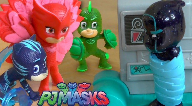 PJ Masks NEW Toy Power Ups Glitch Trick Romeo