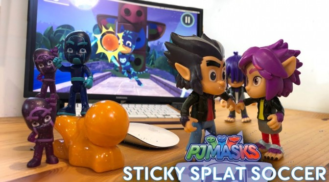 PJ Masks Night Ninja's Splats Save Sad Wolfies