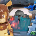 PJ Masks Fortress Traps Romeo with Amadylan Toy