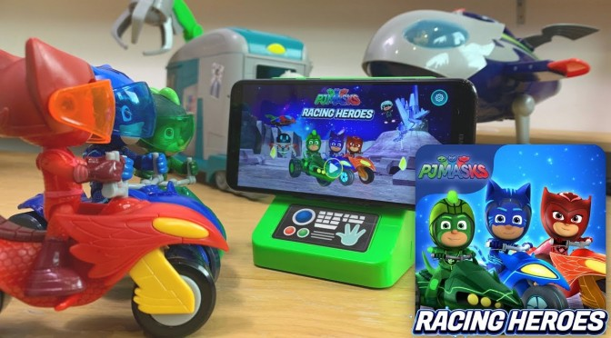 Romeo Invades NEW PJ Masks Racing Heroes Game