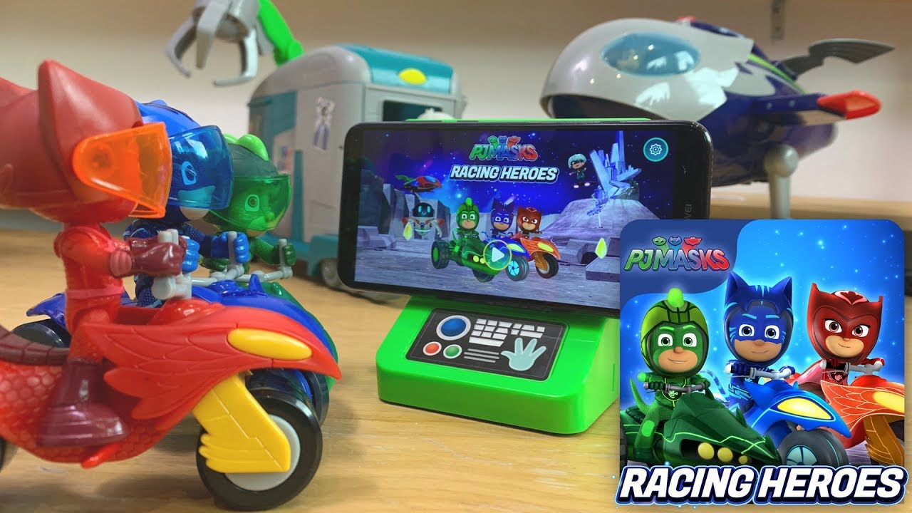 Romeo Invades NEW PJ Masks Racing Heroes Game