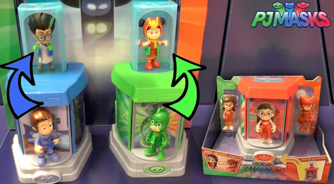 PJ Masks Transformation Toy Elevator Count (Disney Junior)