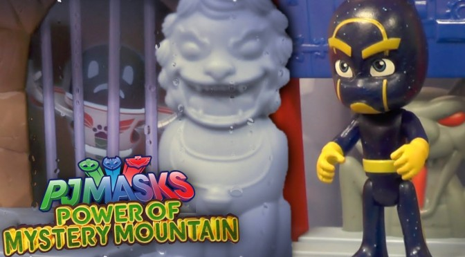 PJ Masks Night Ninja Steals Mystery Mountain Hideout