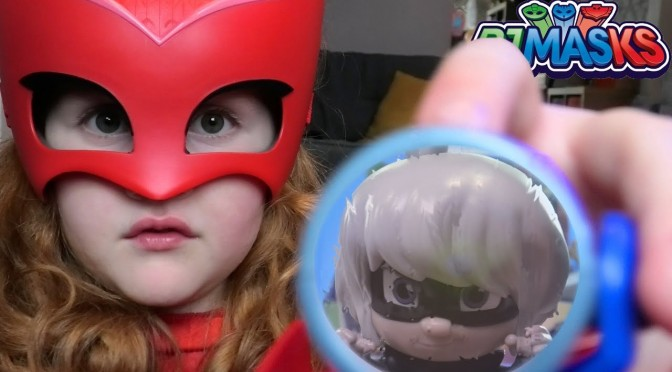 PJ Masks Toys Jump Out Of Computer (Luna Girl Illusion)