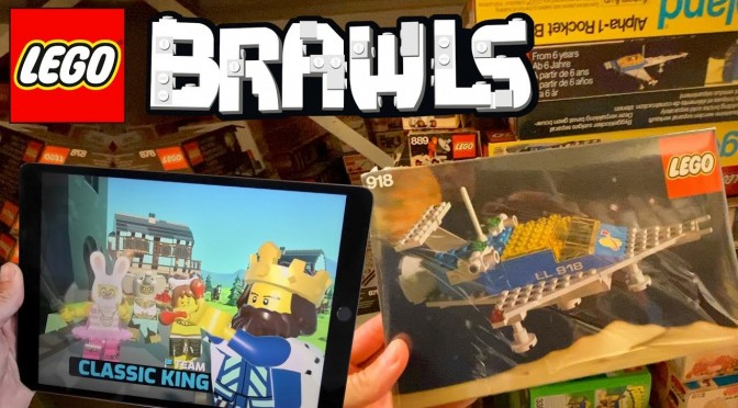 LEGO Brawls Let Loose in LEGO Vault!  (First Evar Disney, Harry Potter & Star Wars Sets)