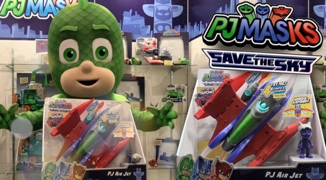 Gekko Magics PJ Masks Air Jet Toy (Disney Junior Save The Sky)
